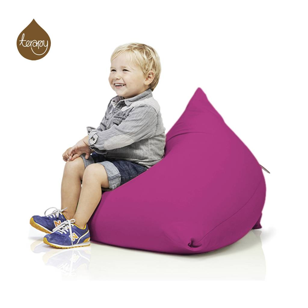 Surprising Terapy Beanbag Sydney Pyramid Pink Cotton 60X60X60Cm 130Liter Camellatalisay Diy Chair Ideas Camellatalisaycom