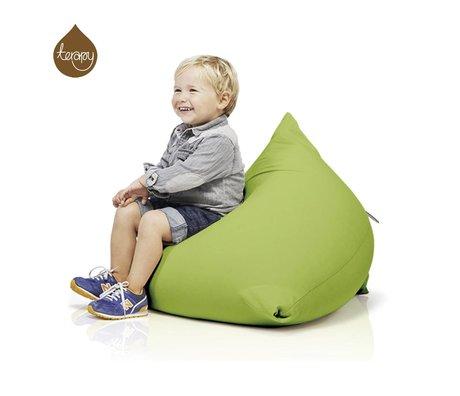 Terapy Beanbag Sydney pyramid green cotton 60x60x60cm 130liter