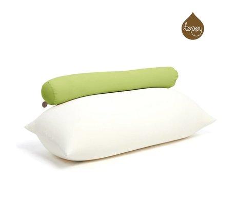 Terapy Sitzsack Toby aus Baumwolle, grün, 160x25x25cm 120liter