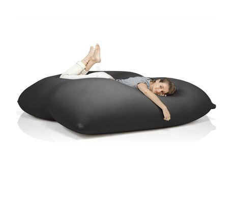Terapy Beanbag Dino black cotton 180x160x50cm 1400liter