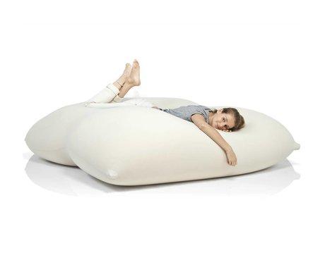 Terapy Beanbag Dino cotone bianco sporco 180x160x50cm 1400 litro