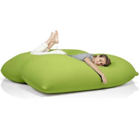 Terapy Sitzsack Dino aus Baumwolle, grün, 180x160x50cm 1400liter