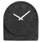 LEFF amsterdam Uhr Felt Two, grau mit weiße Zeiger, 19,5x8x21cm
