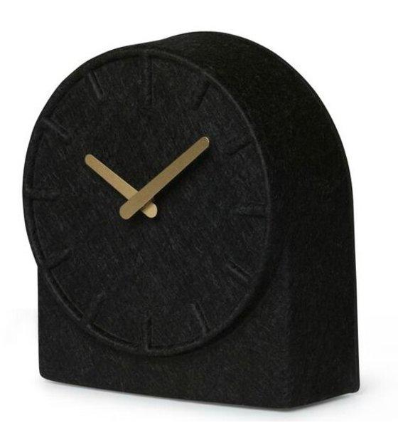 bcac61142 LEFF amsterdam Filt To sorte ur med messing hænder 19,5x8x21cm