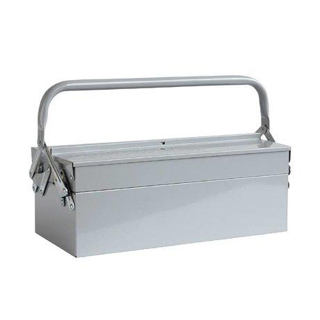 Housedoctor Opbevaring kasser VÆRKTØJ blå grå 42x20xh11,5cm