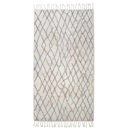 HK-living Grande scacchi tappetini 90x175cm