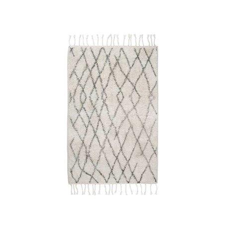 HK-living Medium ternet tæppe mat 60x90cm