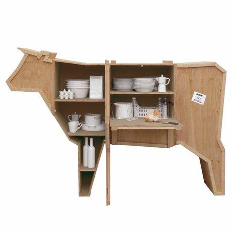 Seletti L'invio di gabinetto Animali Cow Cow sloophout 225x58xh151cm