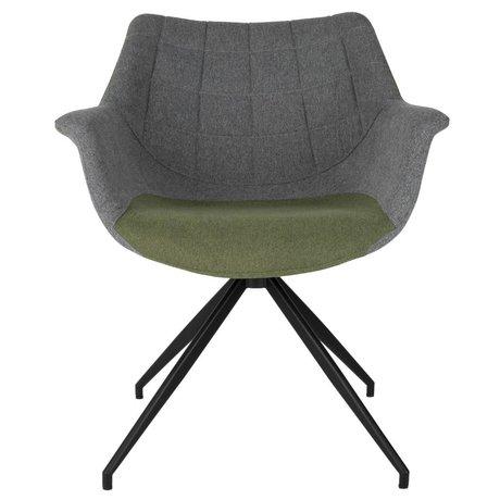 Zuiver Silla de comedor Doulton Vintage 67x61x80cm verde