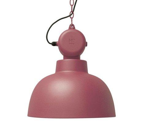 HK-living Hængende lampe fabrik marsala mat metal store Ø50cm
