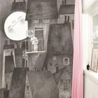 Kek Amsterdam Wallpaper Moonlight gray black Paperliners 194,8x280cm