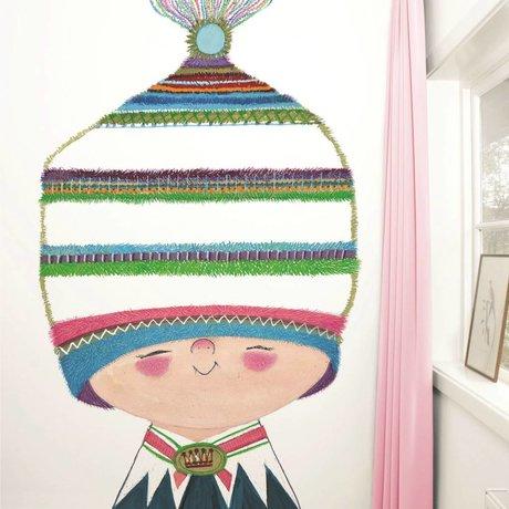 Kek Amsterdam Wallpaper Piccolo Principe Multi Paperliners 194,8x280cm