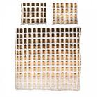 Snurk Linen bedspread toast cotton 260x200x220cm including 2x pillowcase 60x70cm