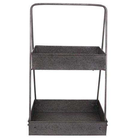 Nicolas Vahé Storage rack zinc 38x30x65cm