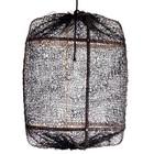 Ay Illuminate Pendelleuchte Bambus mit schwarzen Bezug aus Sisal ø67x100cm