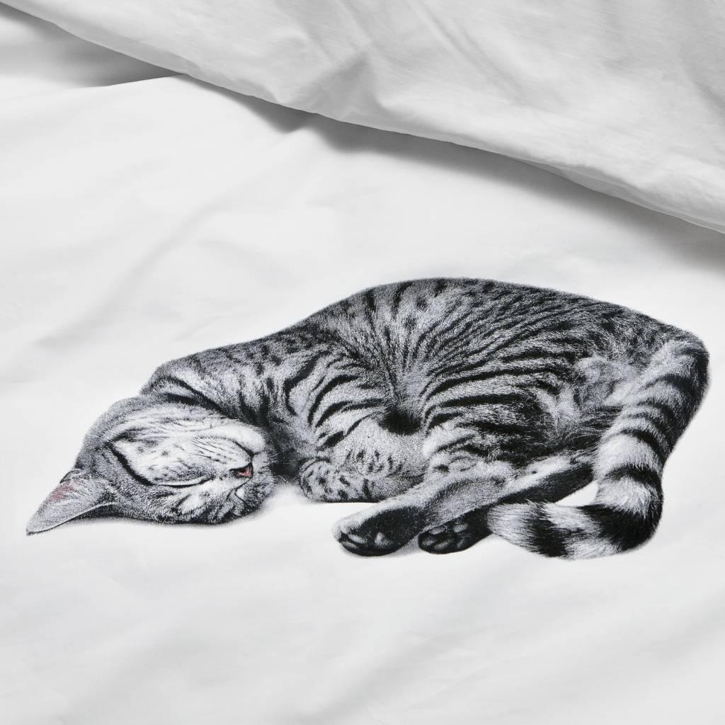 Snurk Bettwäsche Katze Ollie Weiß In 3 Größen Leflivingde