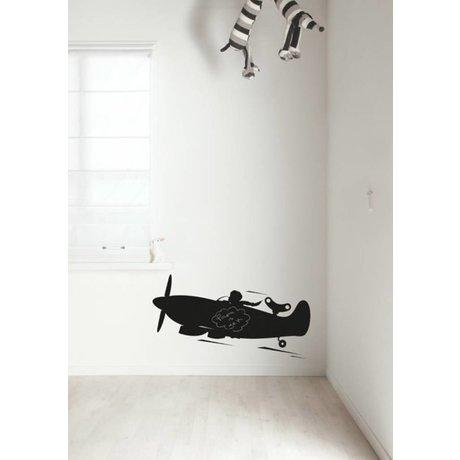 Kek Amsterdam Chalkboard film plane, black, available in 2 sizes