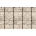 Merci Brooklyn Tins wallpaper, gray / cream, Tin-03