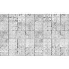 Merci Brooklyn Tins wallpaper, gray / white, tin-04