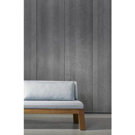 Piet Boon Tapete Betonoptik concrete4, dunkelgrau, 9 Meter