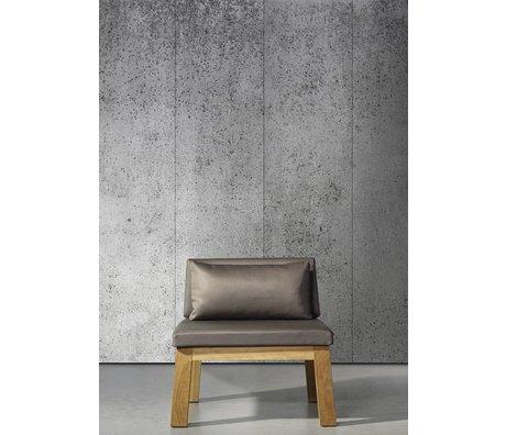 Piet Boon Concrete5 konkret virkning tapet, grå, 9 meter