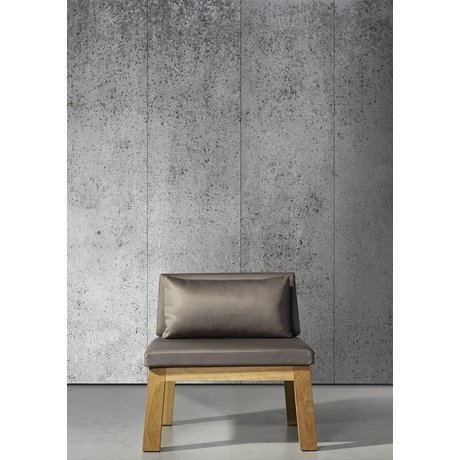 Piet Boon Carta da parati aspetto cemento concrete5, grigio, 9 metri