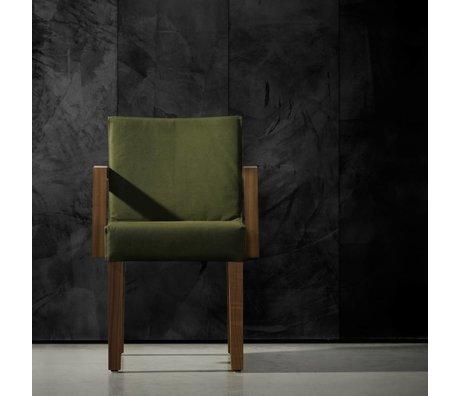 Piet Boon Papel pintado aspecto concreto concreto7, negro, 9 metros