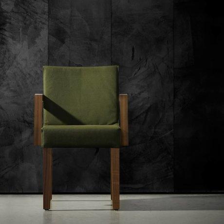 Piet Boon Carta da parati effetto cemento concrete7, nera, 9 metri