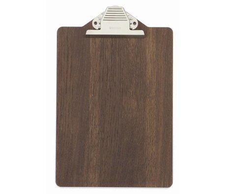 Ferm Living Morsettiera di legno, marrone, 23x31.5cm