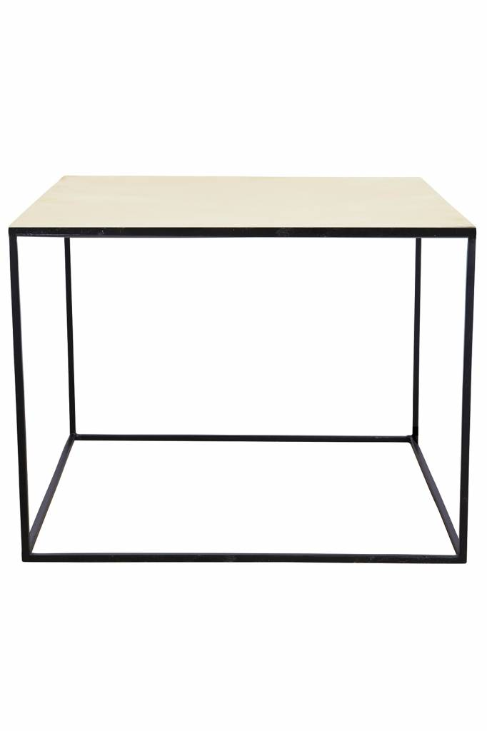 housedoctor couchtisch aus metall schwarz kupfer. Black Bedroom Furniture Sets. Home Design Ideas