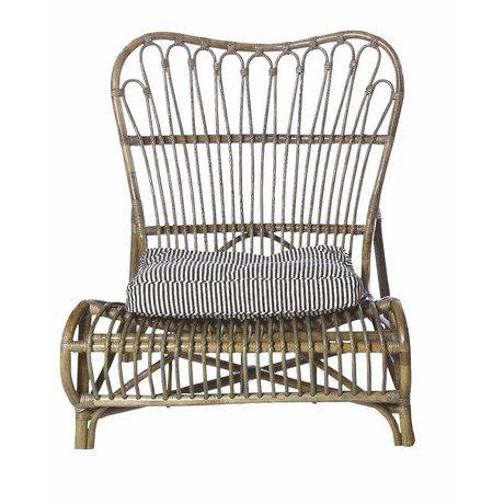 Housedoctor Lounge stol lavet af bambus, brun, 90x55x80cm