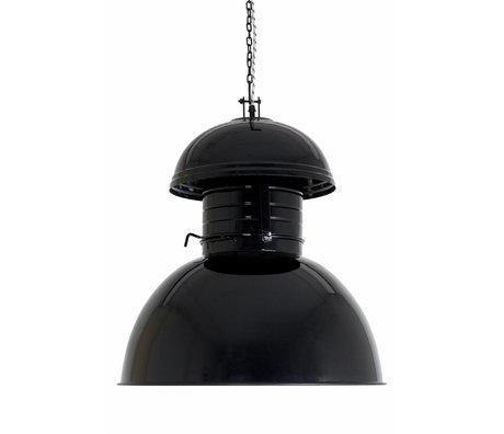 "HK-living Industrielle hængelampe ""Warehouse"" Enorme, sort, metal, Ø56cm"