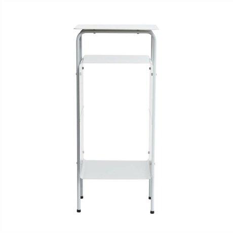 Housedoctor La crème de table 32x30x70cm en métal gris