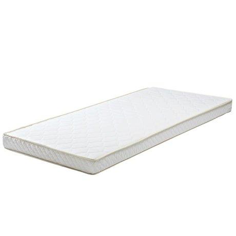 LEF collections Mattress 90x190x12cm white textile polyether mattress drawer