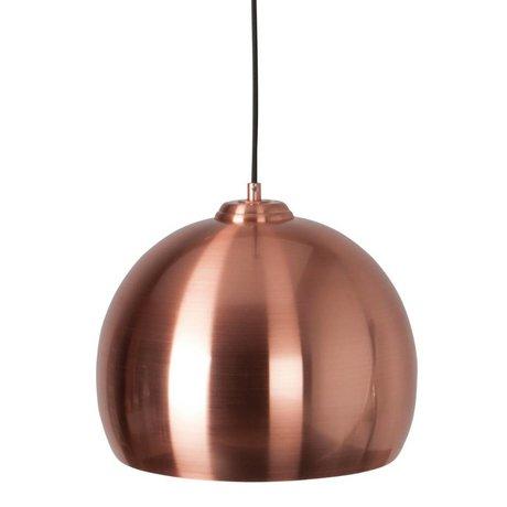 Zuiver Hængende lampe Big Glow kobber metal Ø27x21cm