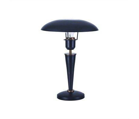 Housedoctor Table Lamp Opal black brass metal 34cm