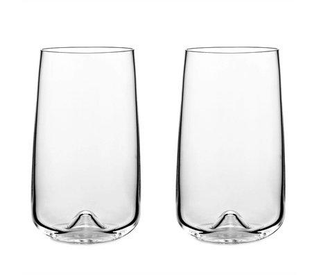 Normann Copenhagen Glas Long drink Satz von 2 Gläser ø8x13,6cm
