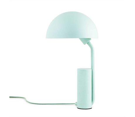Normann Copenhagen Lampe de table Cap lumière plastique bleu ø28x50cm