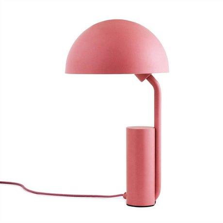 Normann Copenhagen Table Lamp Cap pink plastic ø28x50cm