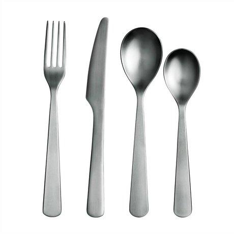 Normann Copenhagen Besteck Set Cutlery rostfreier Stahl für 4 Personen