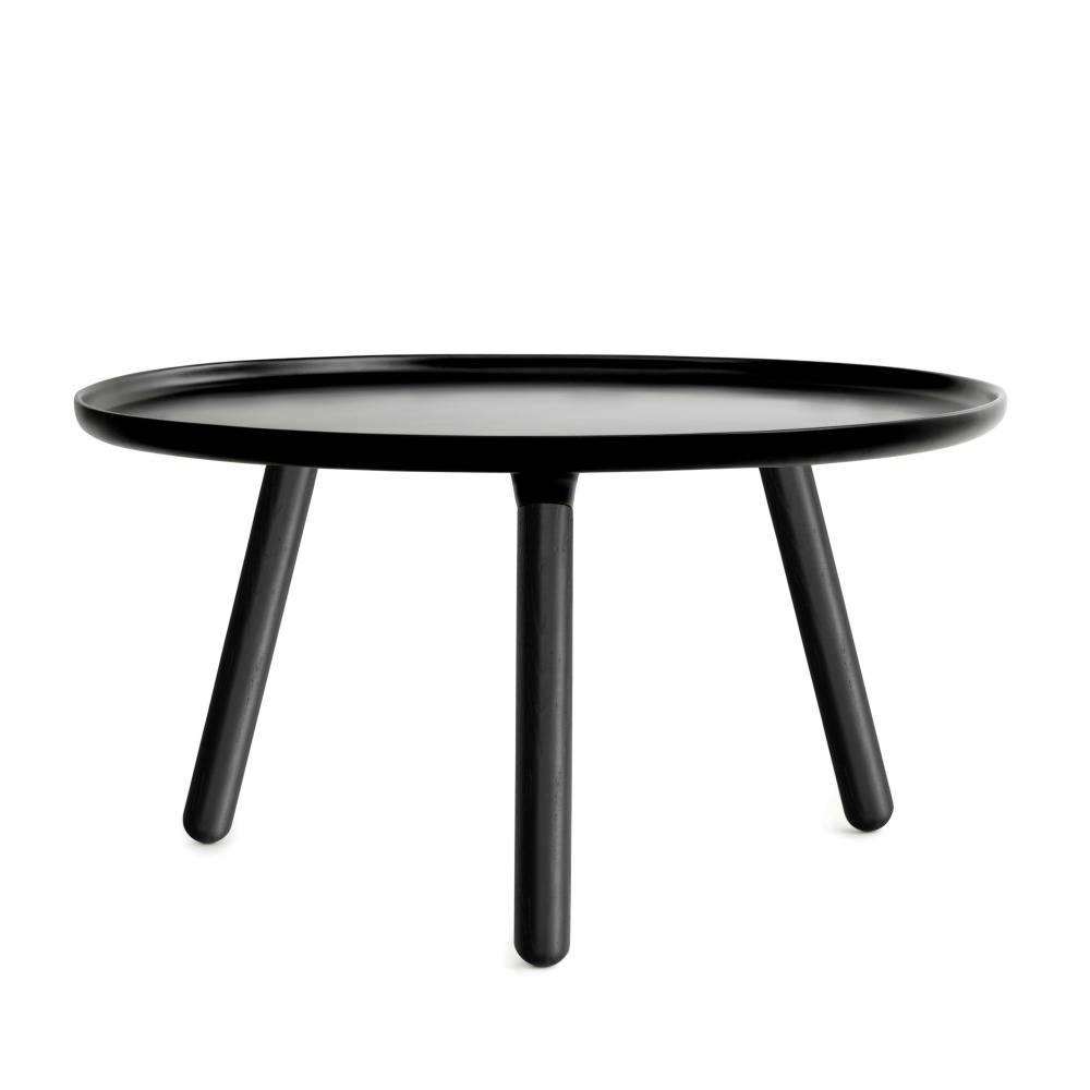 - Normann Copenhagen Tablo Table Black Plastic With Black Ash Wood