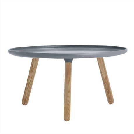 Normann Copenhagen Table Tablo gray plastic ash ø78cm