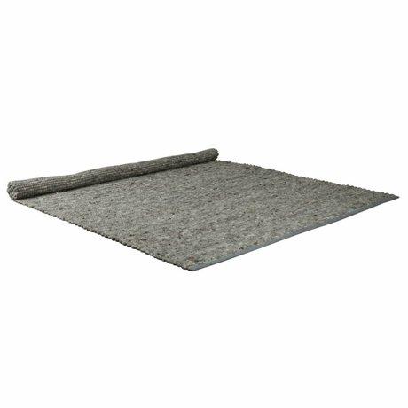 Zuiver Tapis lumière pure laine grise sisal 160x230cm