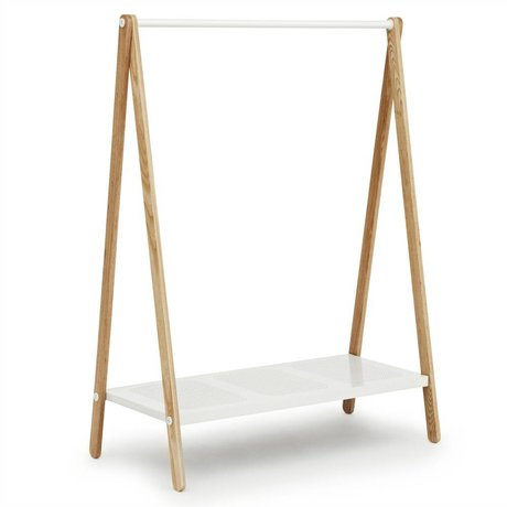 Normann Copenhagen Vêtements racks Toj acier frêne blanc 160x120x59,5cm