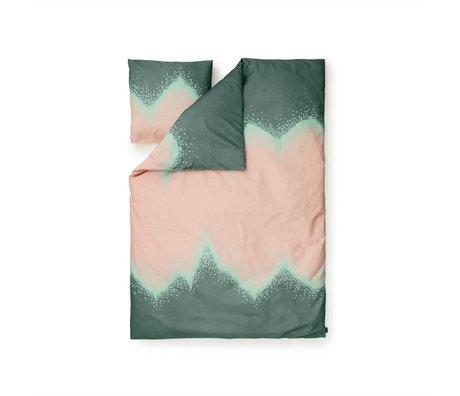 Normann Copenhagen Bedcover Drys grøn Baumwollbe 140x200cm