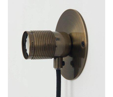 Frama Shop Wandlampe Frama Bronze Ø10cm