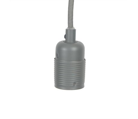 Frama Shop String Electra con la versione E27 Ø4x7,2cm metallo grigio