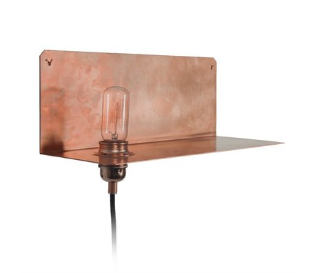 Frama Shop Lampada da parete a 90 ° parete 15x40x15cm rame