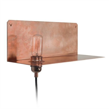 Frama Shop Applique 90 ° mur cuivre 15x40x15cm