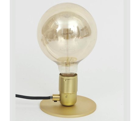 Frama Shop Table lamp with E27 Gold Brass Brass Ø12x7,2cm